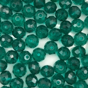 CRT023 - Cristal Verde Esmeralda 8mm - 65Unids