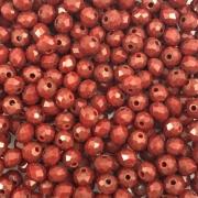 CRT05 - Cristal Vermelho Radiante 4mm - 150Unids