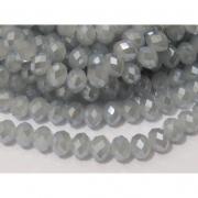 CRT129 - Cristal no Fio Branco Gelo Irisado 10mm - 72Unid