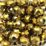 CRT262 - Cristal Dourado 10mm - 72Unids