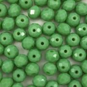 CRT422 - Cristal Verde Ervilha 8mm - 65Unids