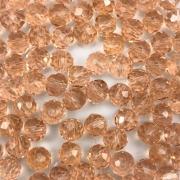 CRT429 - Cristal Padparadscha 6mm - 100Unids