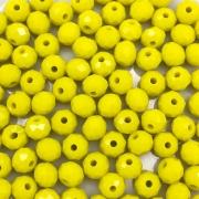 CRT441 - Cristal Amarelo 6mm - 90Unids