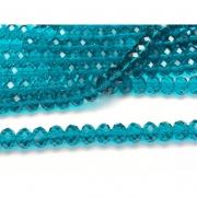 CRT476 - Cristal no Fio Blue Zircon 10mm - 72Unid