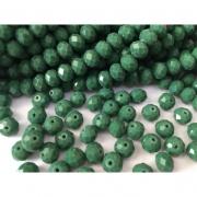 CRT507 - Cristal no Fio Verde Musgo 10mm - 72Unid