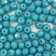 CRT539 - Cristal Turquesa 6mm - 100Unids