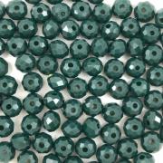 CRT541 - Cristal Verde Pasto 6mm - 100Unids