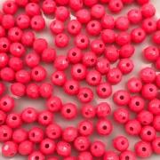 CRT612 - Cristal Rosa Neon 4mm - 120Unids