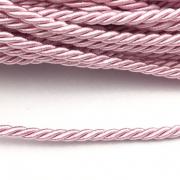 CSF021 - Cordão de São Francisco 3.5mm Rosa Bebe - 1metro