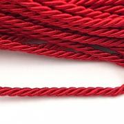CSF022 - Cordão de São Francisco 3.5mm Vermelho - 1metro