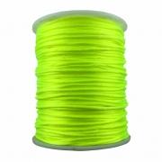 FS04 - Fio de Seda 1mm Amarelo Neon - 5metros