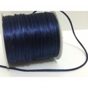 FS05 - Fio de Seda Azul Marinho - 3metros