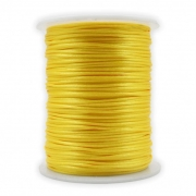 FS17 - Fio de Seda 1mm Amarelo - 5metros