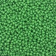 MIC13 - Miçanga Jablonex nº9 Verde Fosco 2,6mm - 20Grs