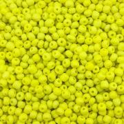 MIC141 - Miçanga Chinesa nº5 Amarelo  Neon 3,2mm - 10Grs