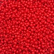 MIC161 - Miçanga Jablonex nº9 Vermelho Fosco 2,6mm - 20Grs