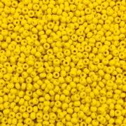 MIC49 - Miçanga Jablonex nº9 Amarelo 2,6mm - 10Grs