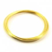 ML05 - Mola de Ferro Dourada 6cm -  20 voltas