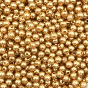 PE125 - Pérola de Resina 5m Ouro Rose - 10Grs