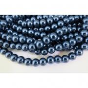 PE12 - Pérola de Vidro Azul 8m - 110Unid