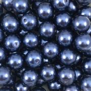 PE14 - Pérola de Vidro Azul 10m - 40Unids