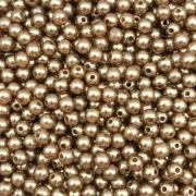 PE54 - Pérola de Resina 5m Bronze - 10Grs