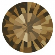 PP12 - Strass Perfecta Smoked Topaz - 50Unids