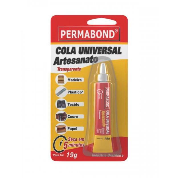 AC09 - Cola Universal Artesanato Permabond 19g