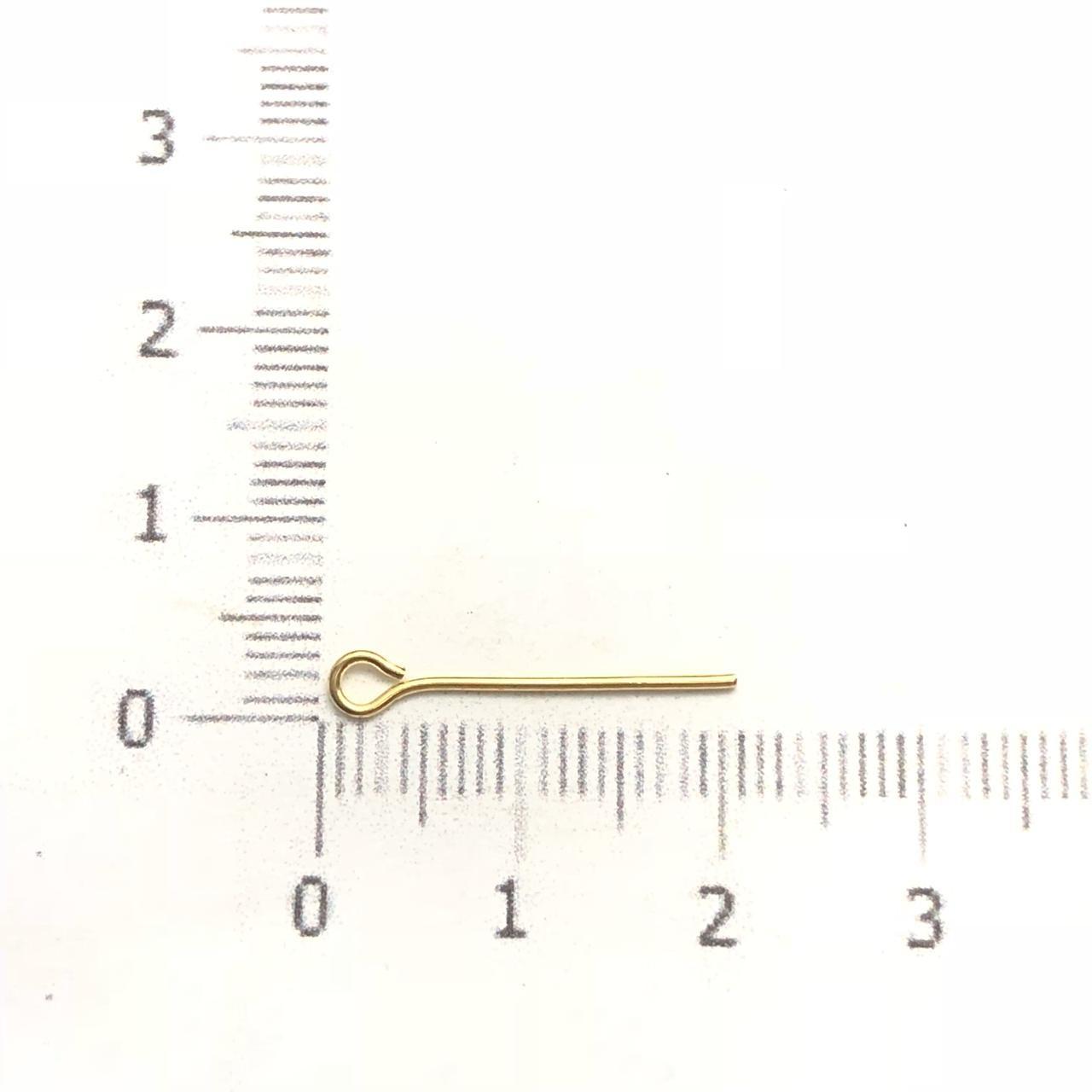 AC138 - ContraPino 2cm Folheado 1mls ouro - 5Grs