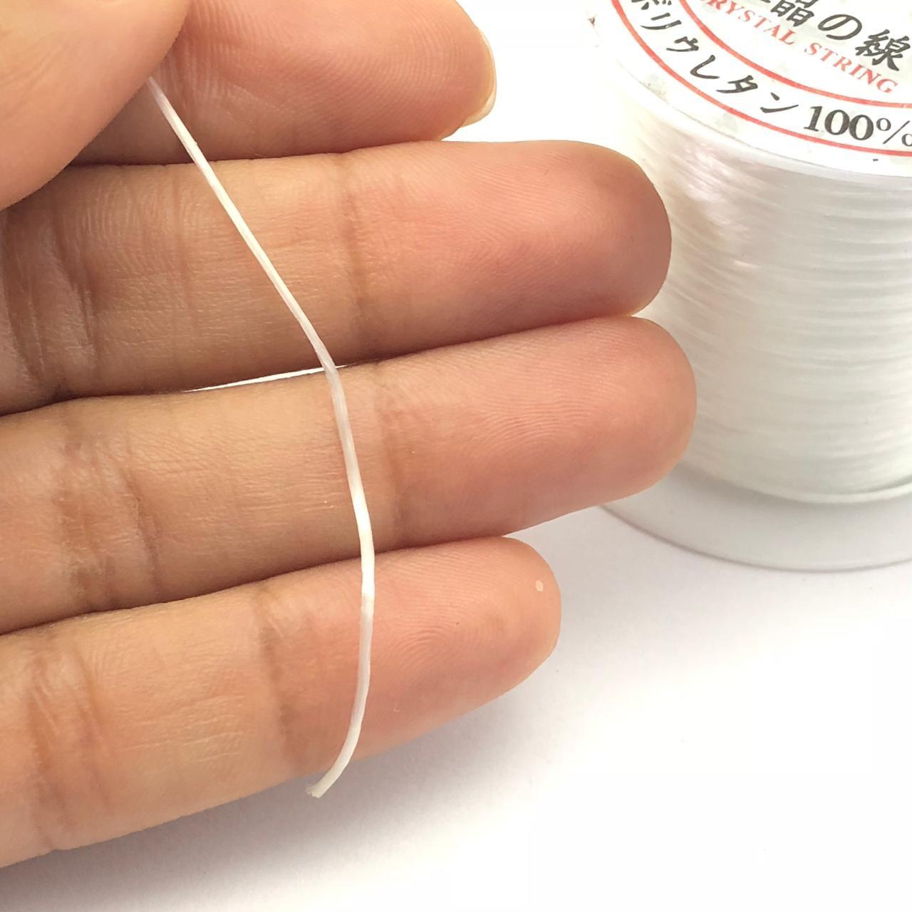AC168 - Fio de Silicone Poliester com 100metros