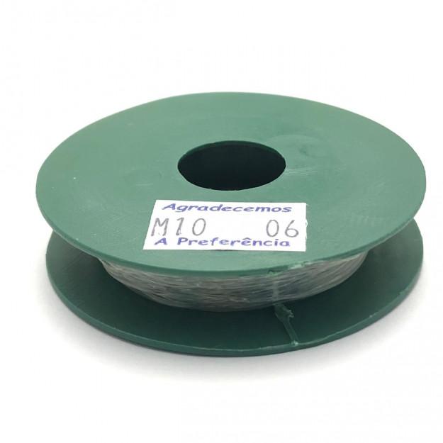AC250 - Fio de Silicone 0.6 com 10 metros