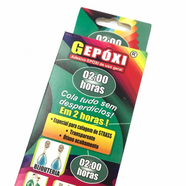 AC625 - Cola Gepoxi Adesivo Epóxi 2 horas - 10grs