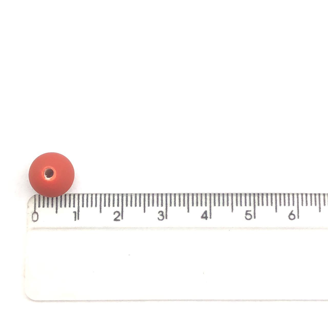 BOL262 - Bola Emborrachada Vermelho 10mm - 20Grs