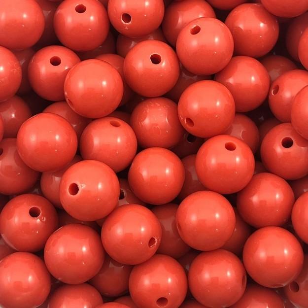 BOL333 - Bola Resina Coral 12mm - 20Gr