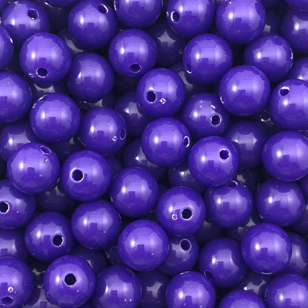 BOL350 - Bola Resina Violeta 10mm - 20Gr