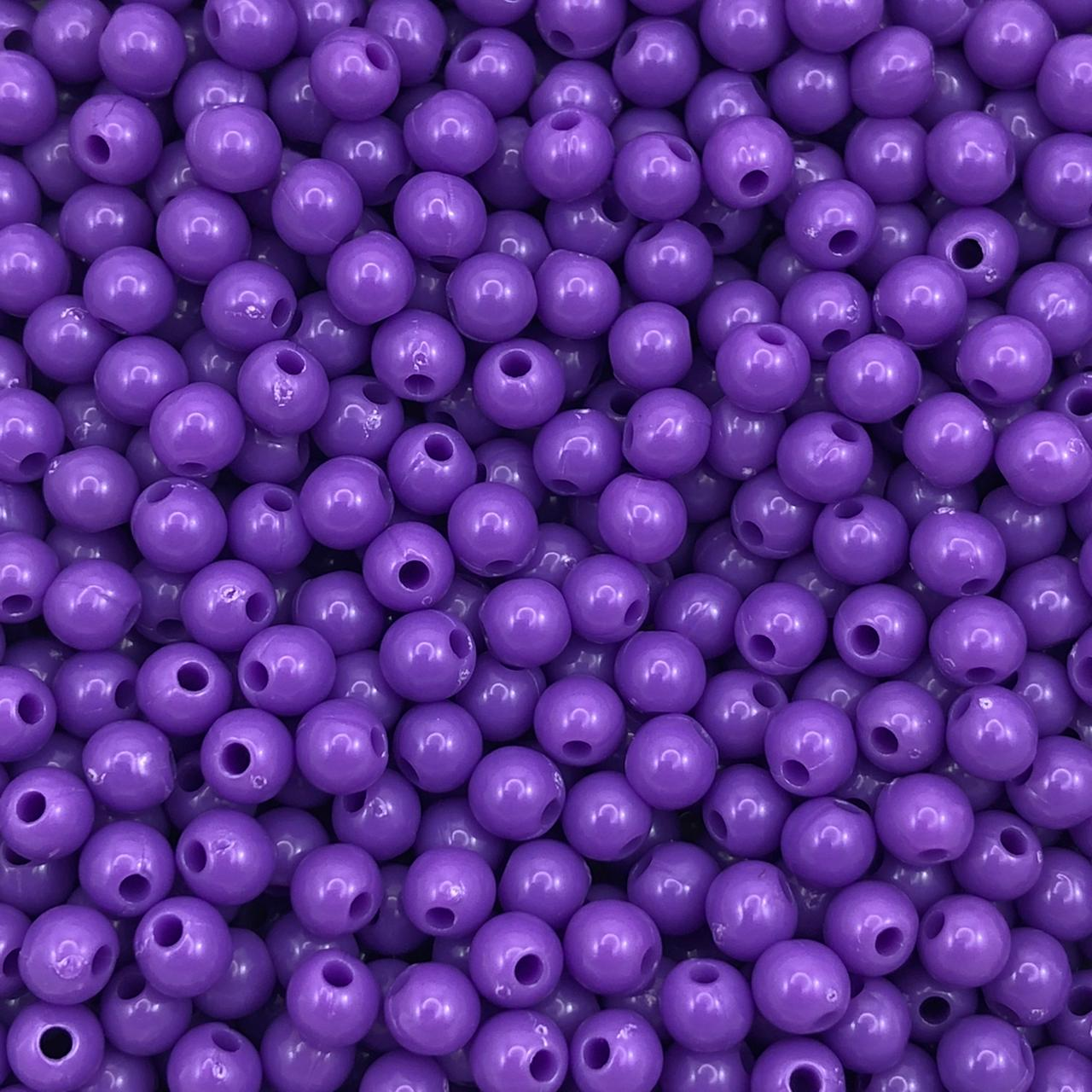 BOL590 - Bola Resina Violeta 5mm - 20Grs