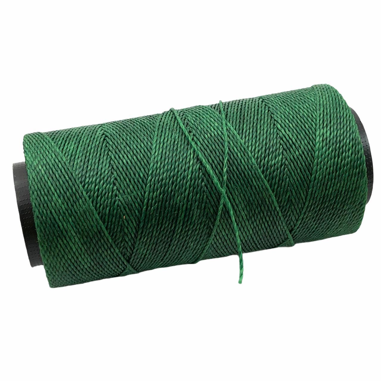 CE07 - Cordonê Encerado Verde Folha - 10metros