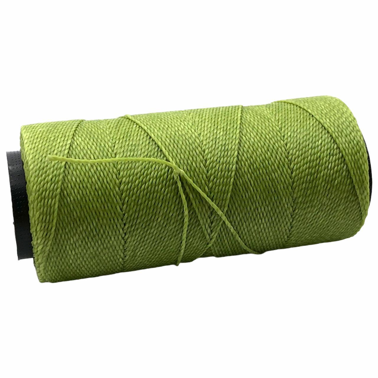 CE17 - Cordonê Encerado Verde Pistache - 10metros