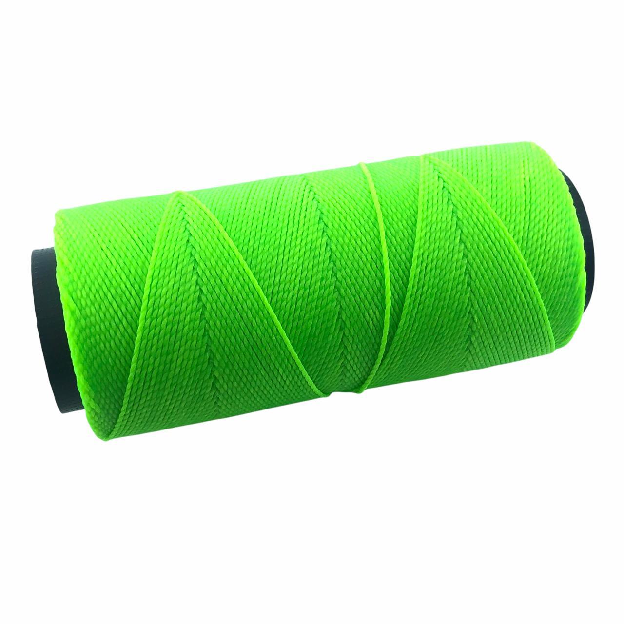 CE28 - Cordonê Encerado Verde Neon - 10metros