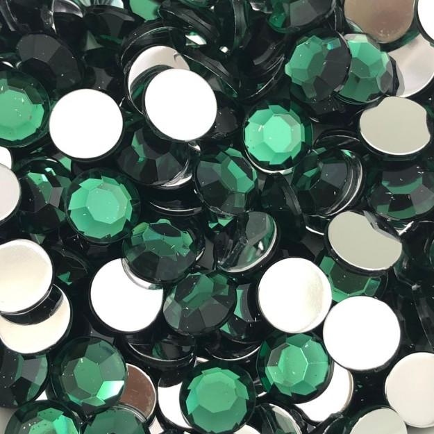 CHT1689 - Chaton Redondo 10mm Green Turmaline - 10unids