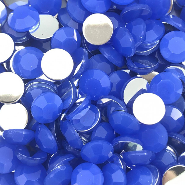 CHT1693 - Chaton Redondo 10mm Safira Opal - 10unids