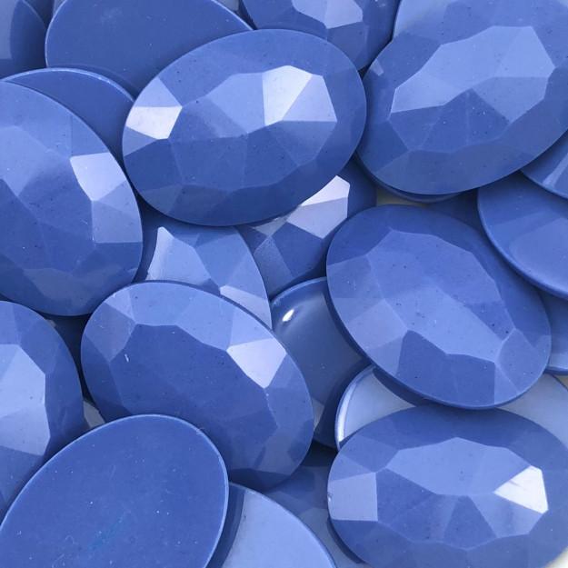 CHT199 - Chaton Oval 18x25 Azul Inverno - 4unids