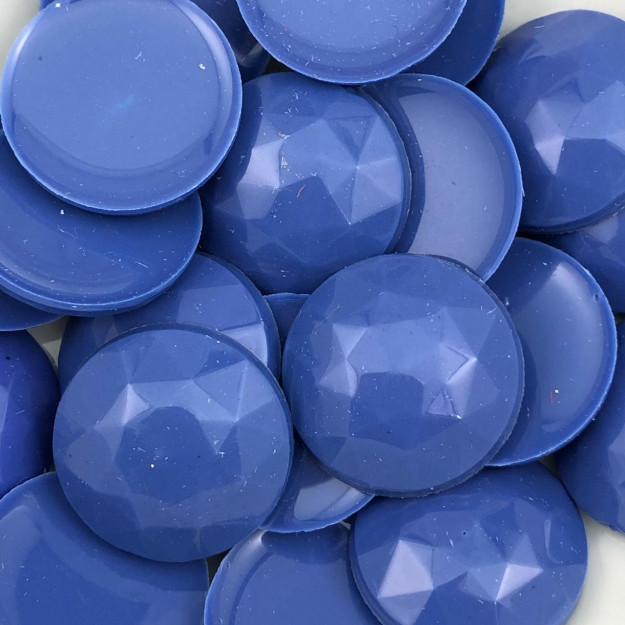 CHT413 - Chaton Redondo Azul Inverno 22mm - 2unids