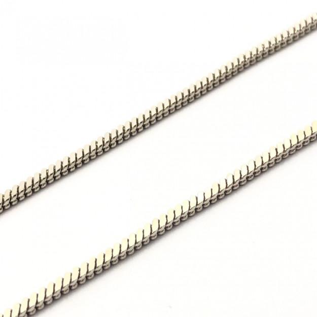 CR259 - Corrente Rabo de Rato 0.60 Níquel - 1metro