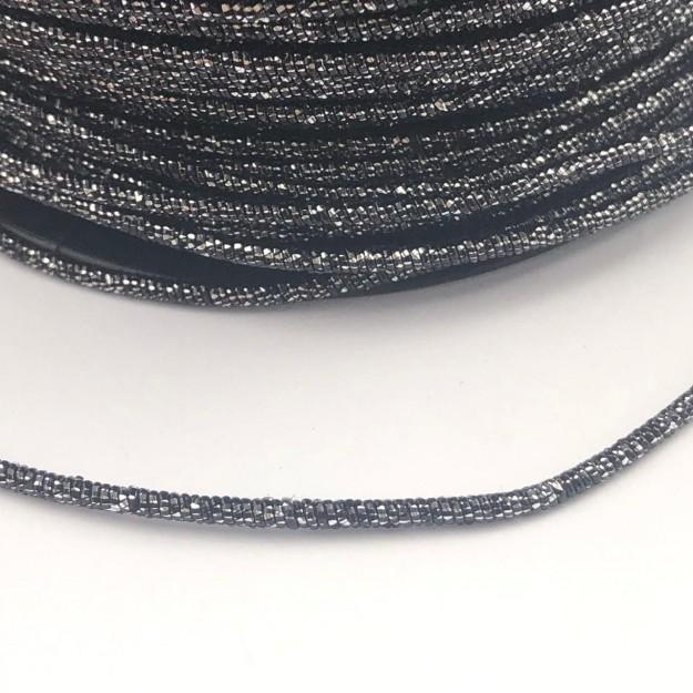 CRM020 - Arame Revestido Metalizado de Poliester 2mm Grafite - 1metro