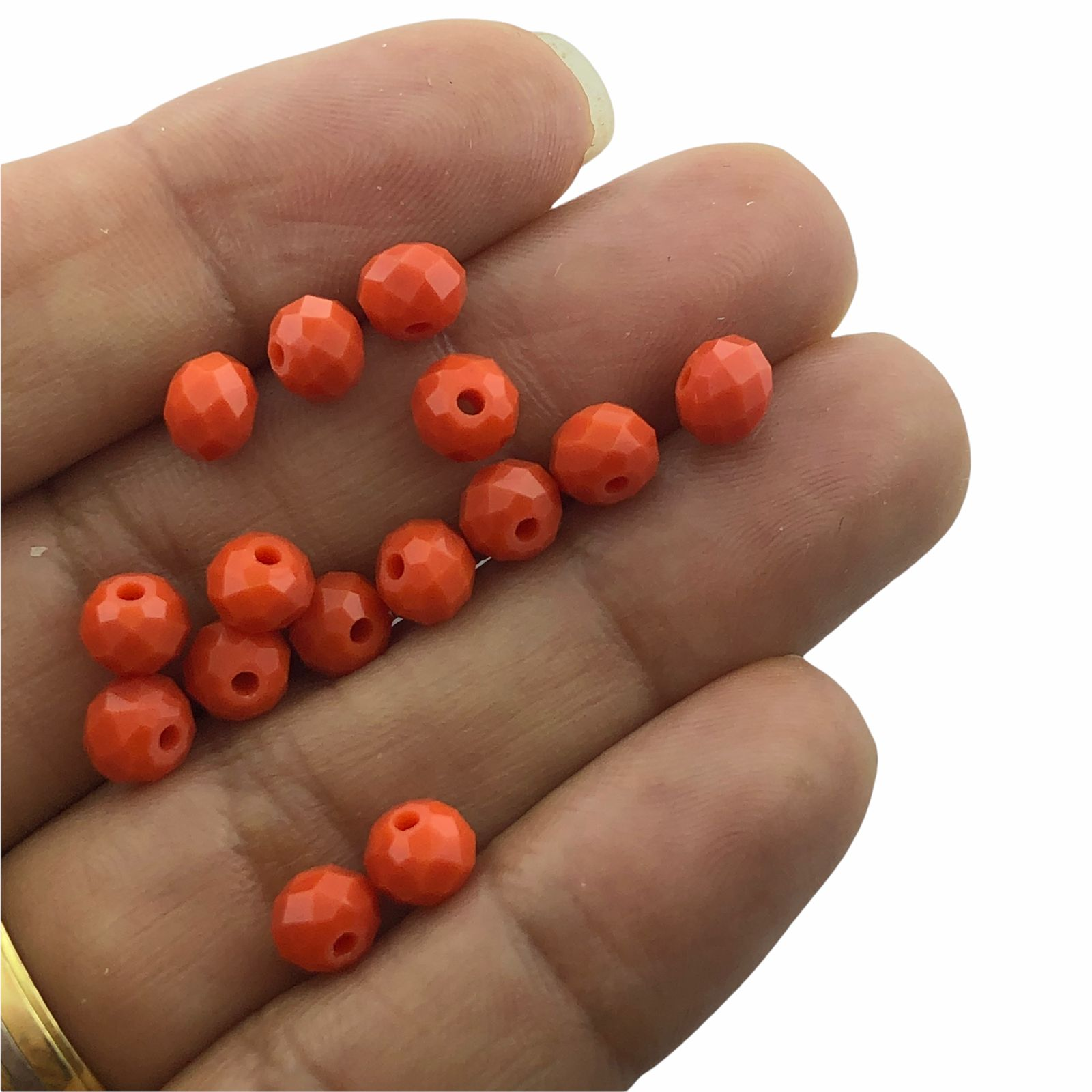CRT116 - Cristal Coral 6mm - 90Unids