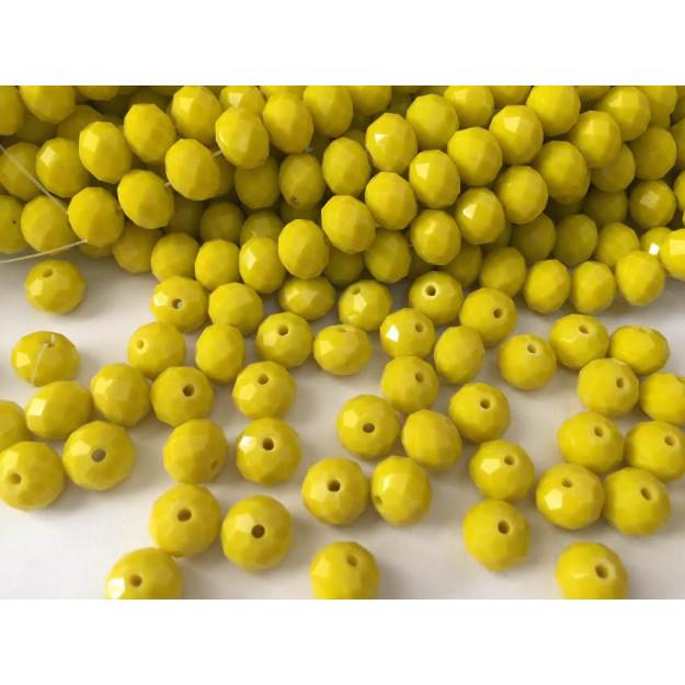 CRT223 - Cristal no Fio Amarelo 10mm - 72Unid