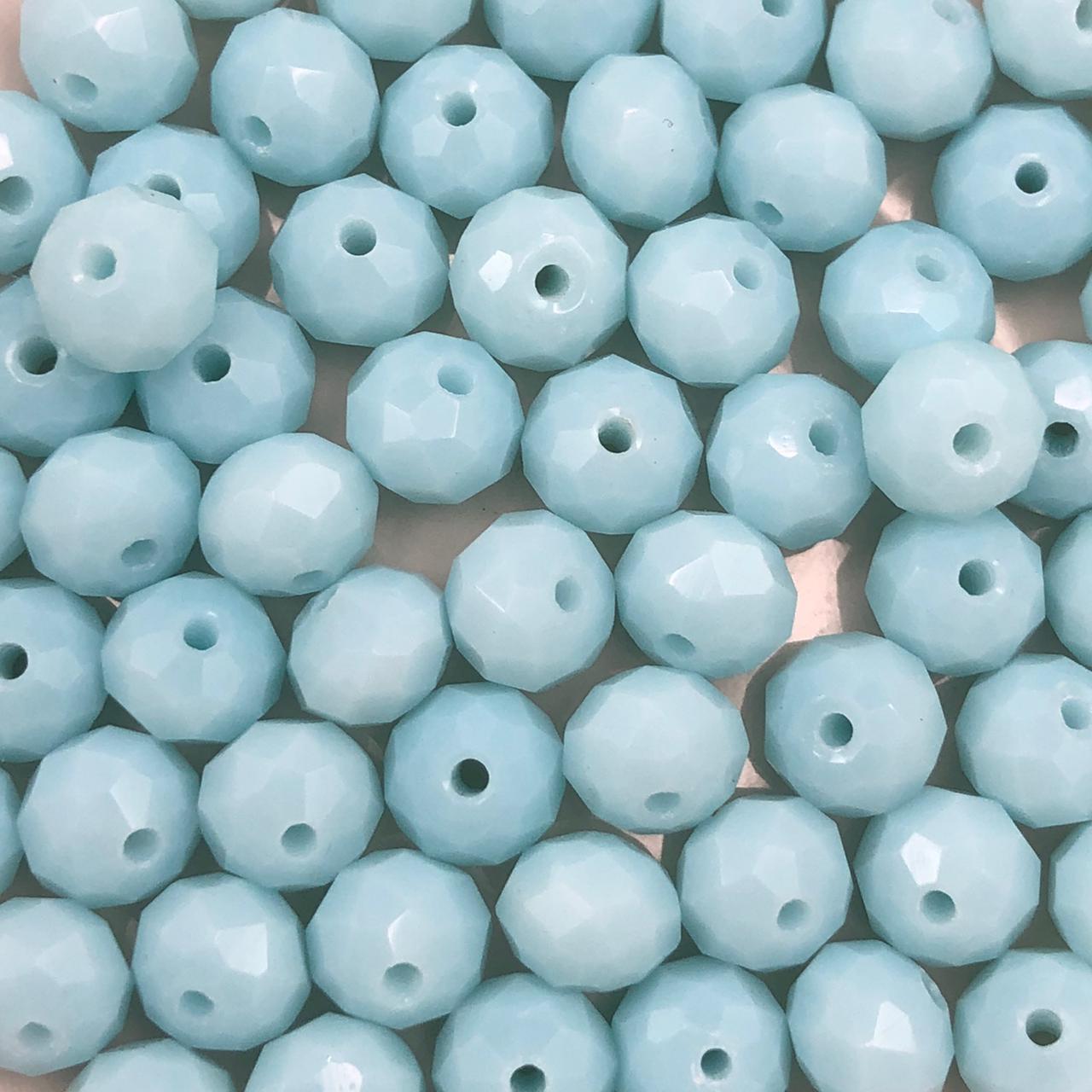 CRT393 - Cristal Azul Celeste 8mm - 65Unids