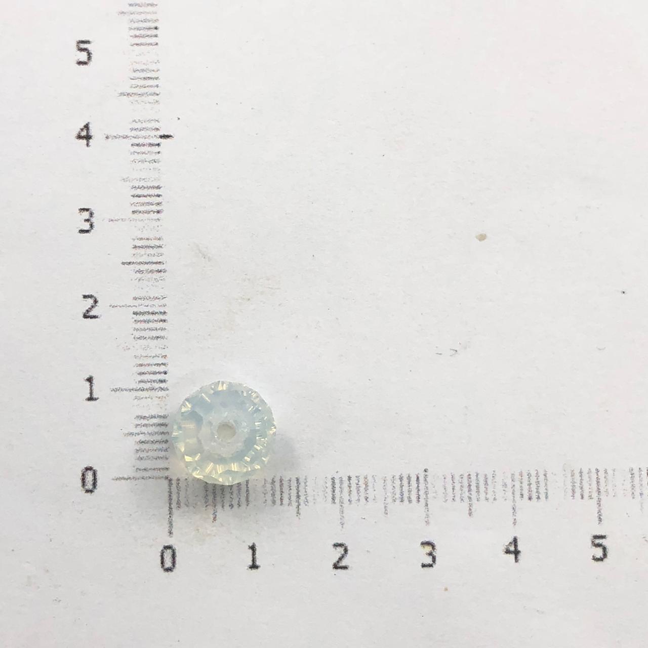 CRT407 - Cristal White Opal 10mm - 72Unids