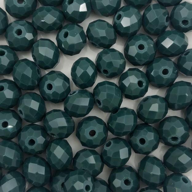 CRT411 - Cristal Verde Pasto 8mm - 65Unids